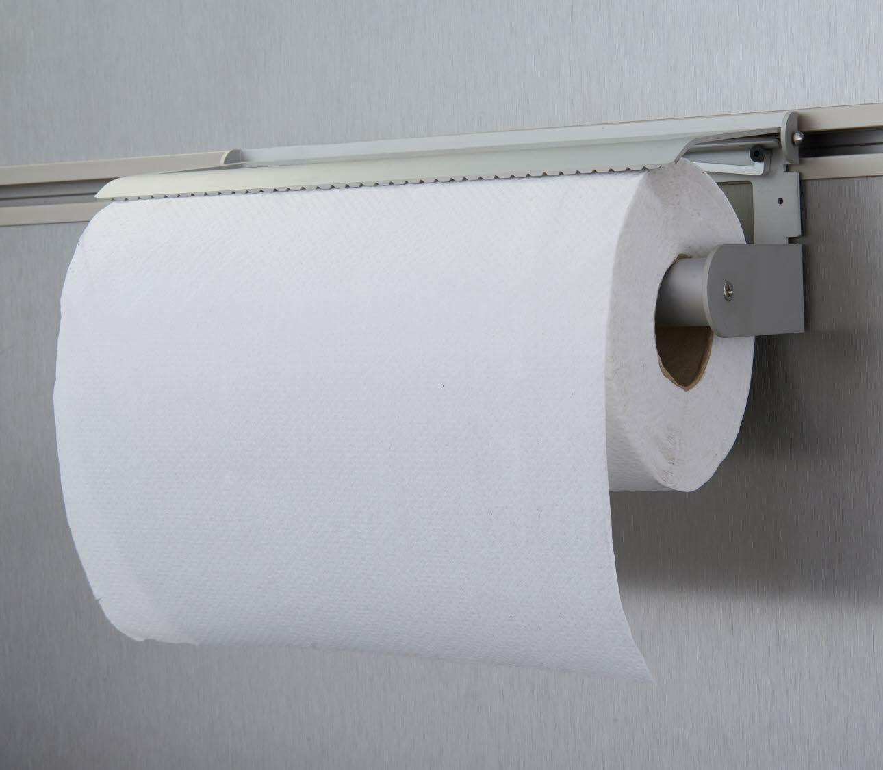Paper towel holder - with paper towel