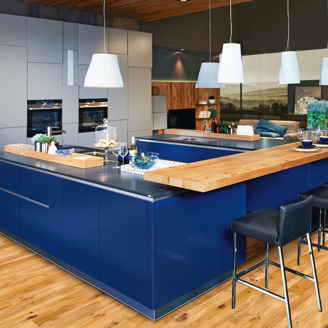 Vida | grifflose Küchen | ewe Küchen