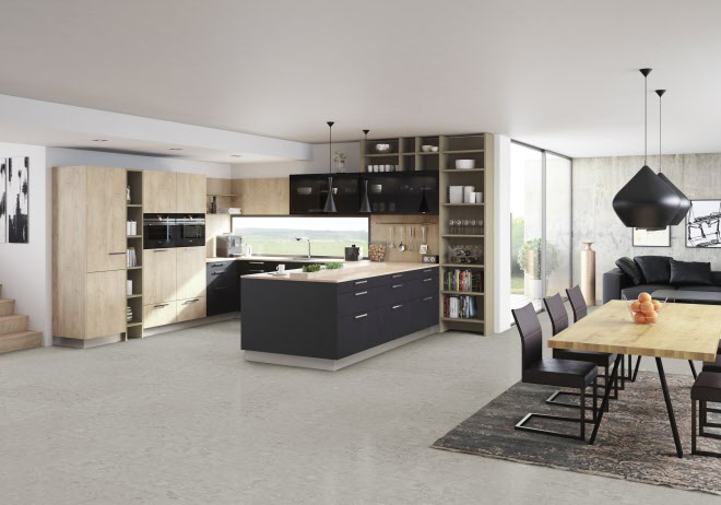Schwarze küchen
