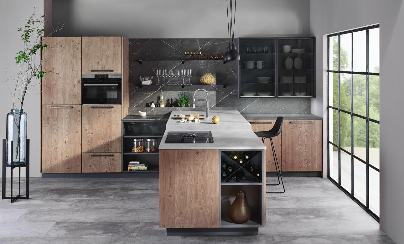 fm guglwald landhausstil ewe k chen. Black Bedroom Furniture Sets. Home Design Ideas