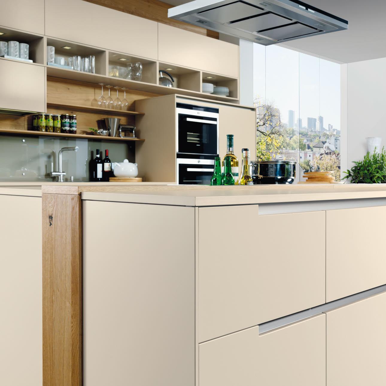 ewe Küchen I Magazin I Edles griffloses Küchendesign mit ...