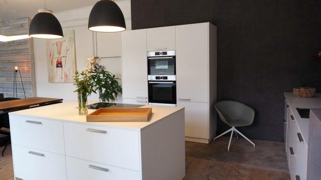 Zeitlose küche modern kombiniert