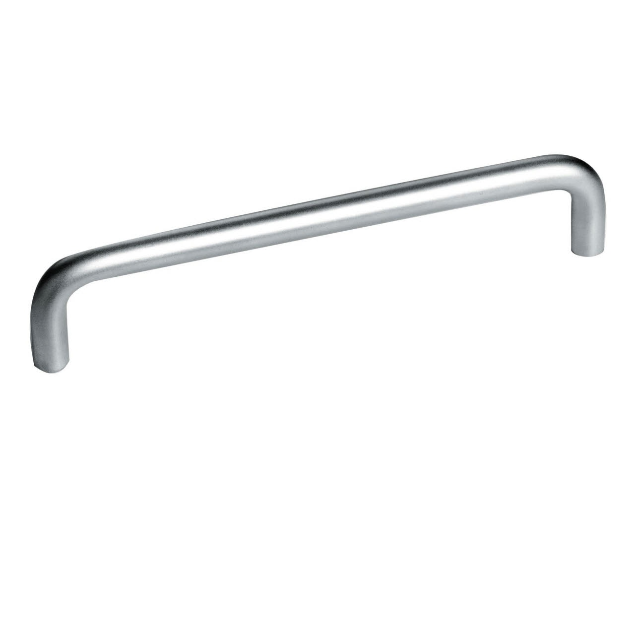 Metal bar stainless steel coloured