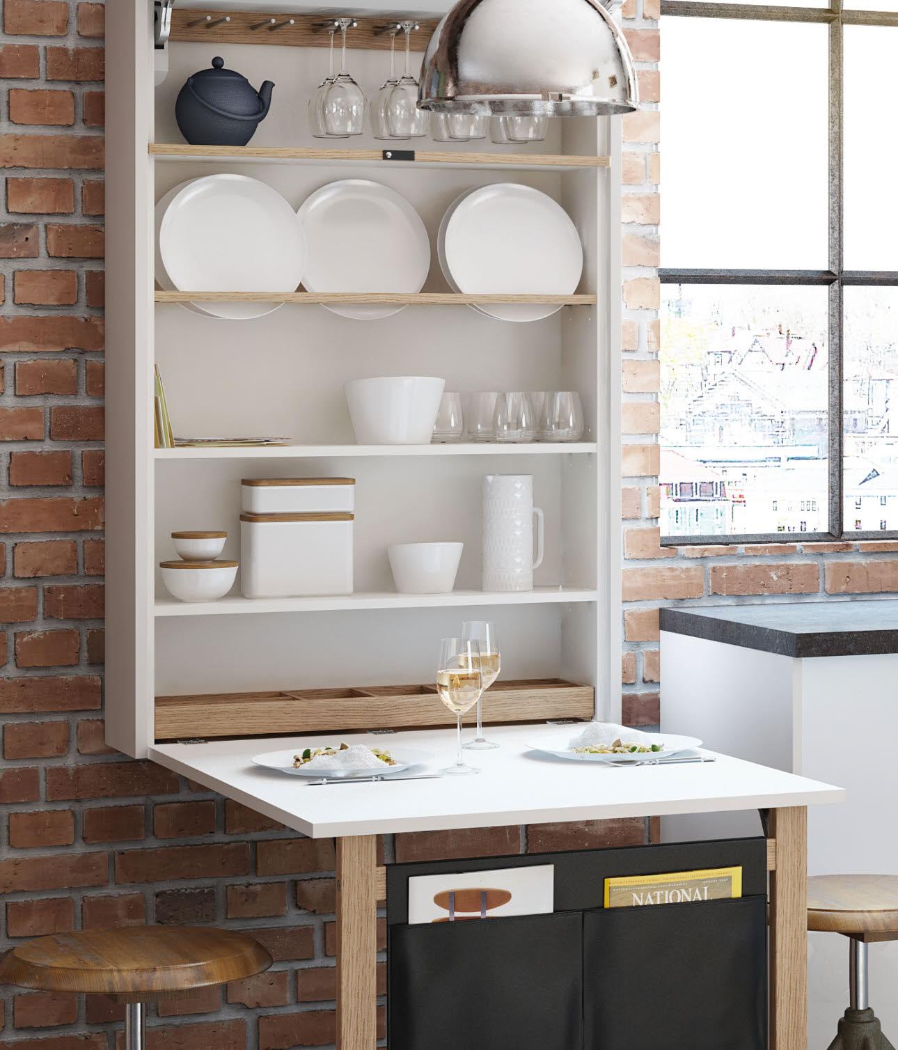 Klapptisch Für Die Küche.Ewe Raumwunder Klapptisch Komfortlösung
