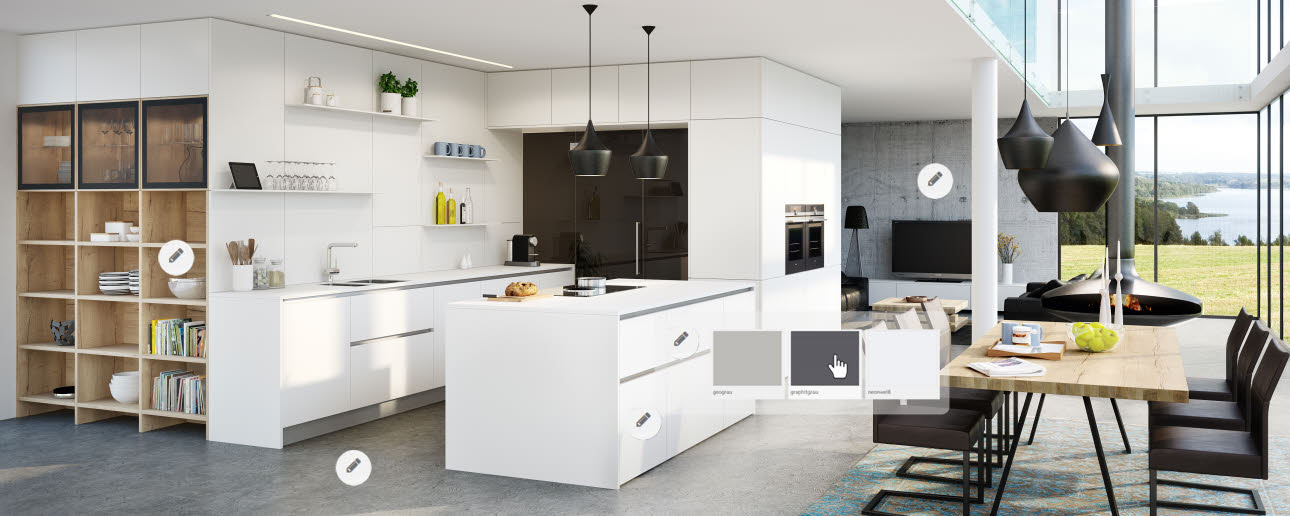 Bunte Küchen | Küchentrends | ewe Küchen
