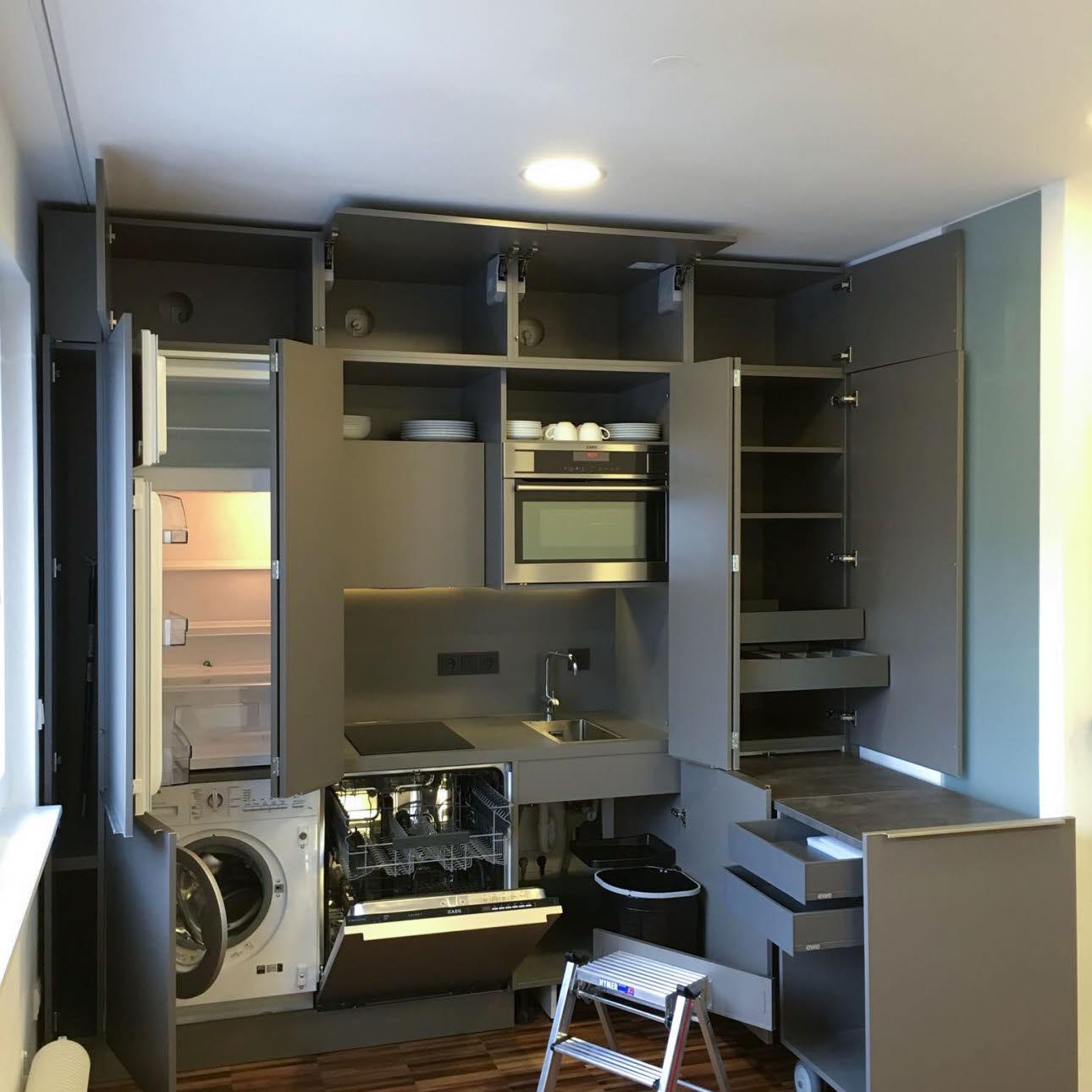 Kleine Küche Raumwunder ...