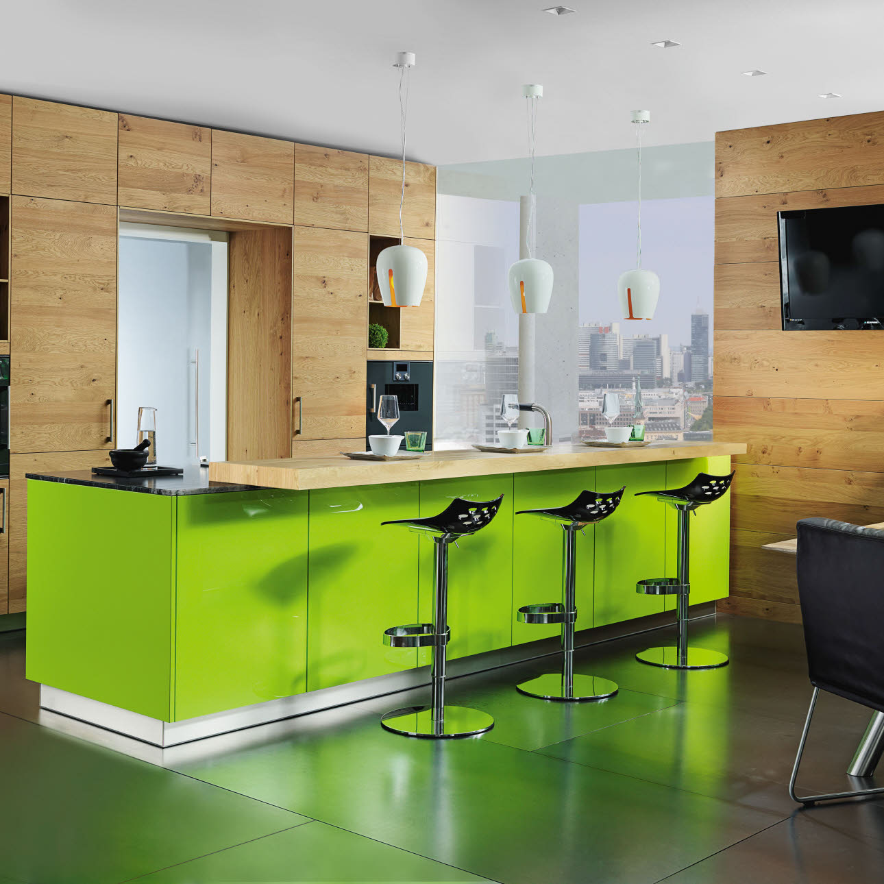 Lucca in der Trendfarbe lime green