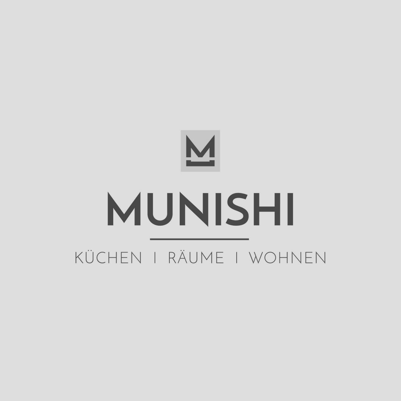 Munishi Logo grau