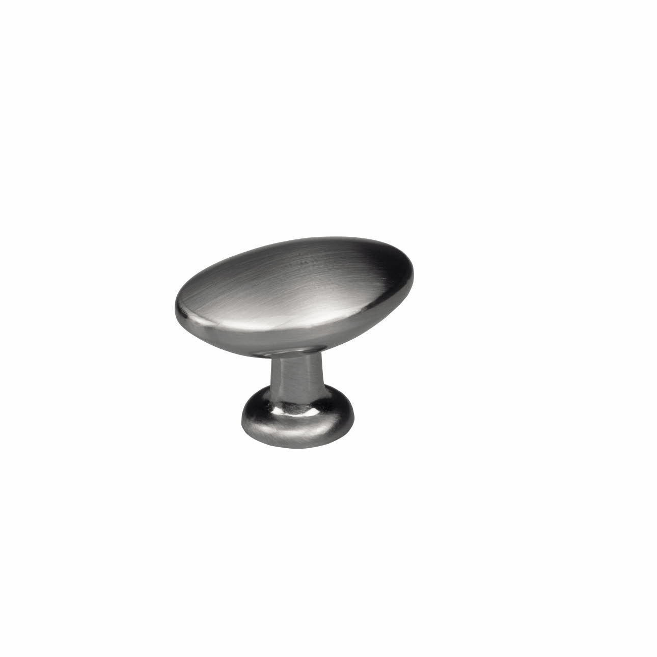 Metal knob Stainless steel coloured