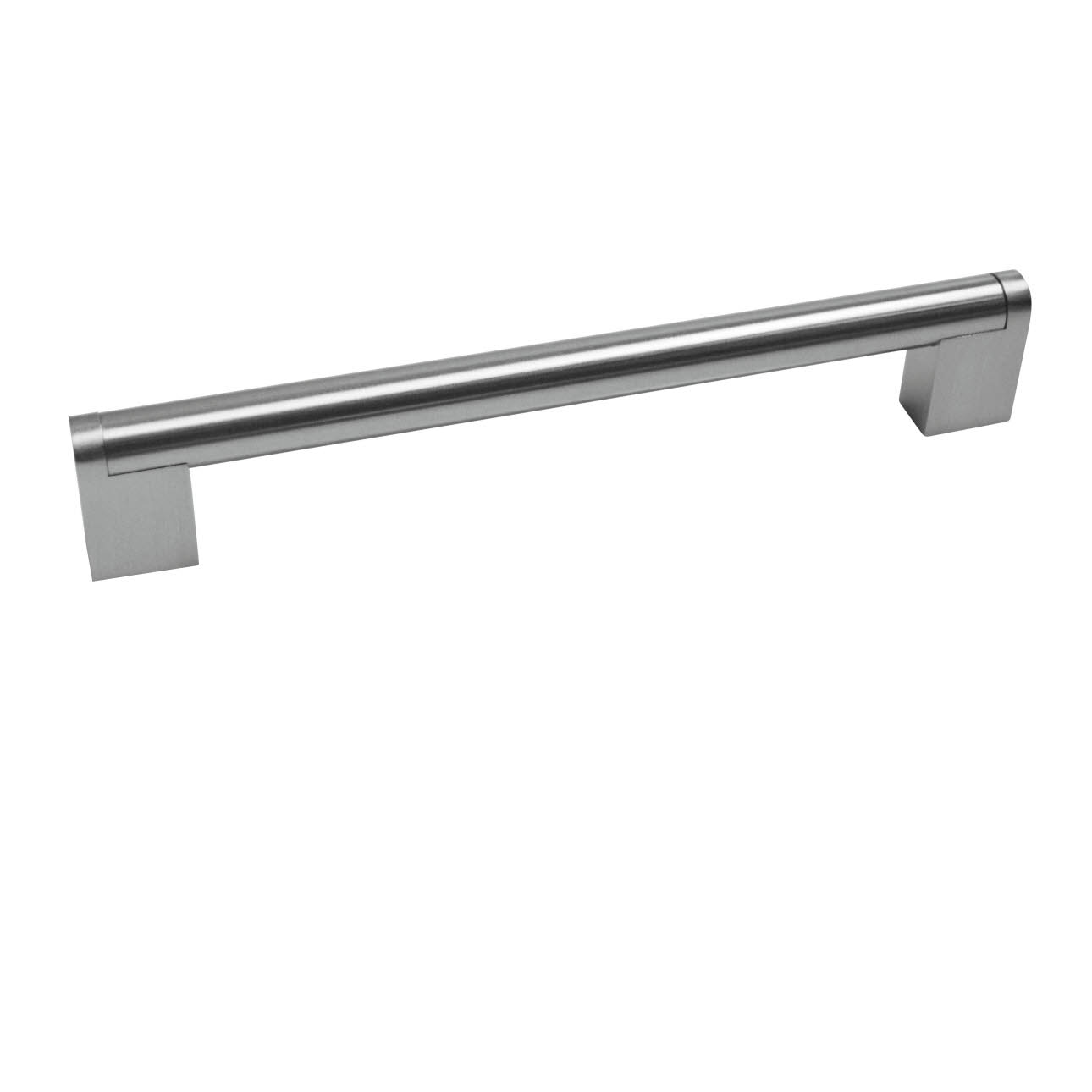 Metal long bar stainless steel coloured