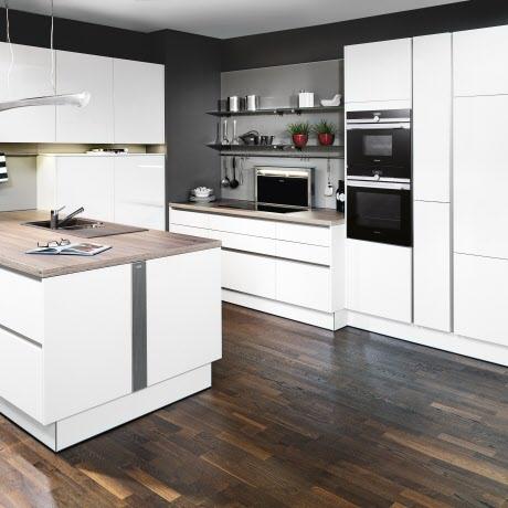 Nuova Geradlinige Weiße Küche Ewe