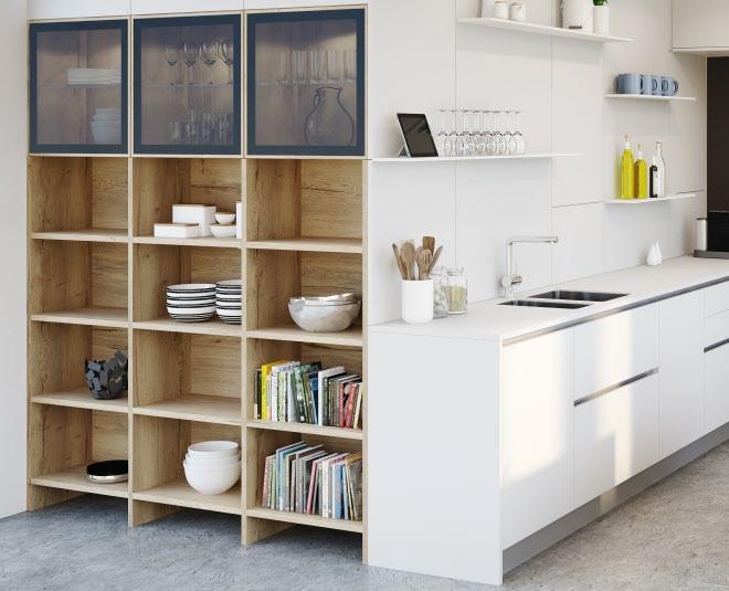 Bibliothek in der küche bücher sind willkommen