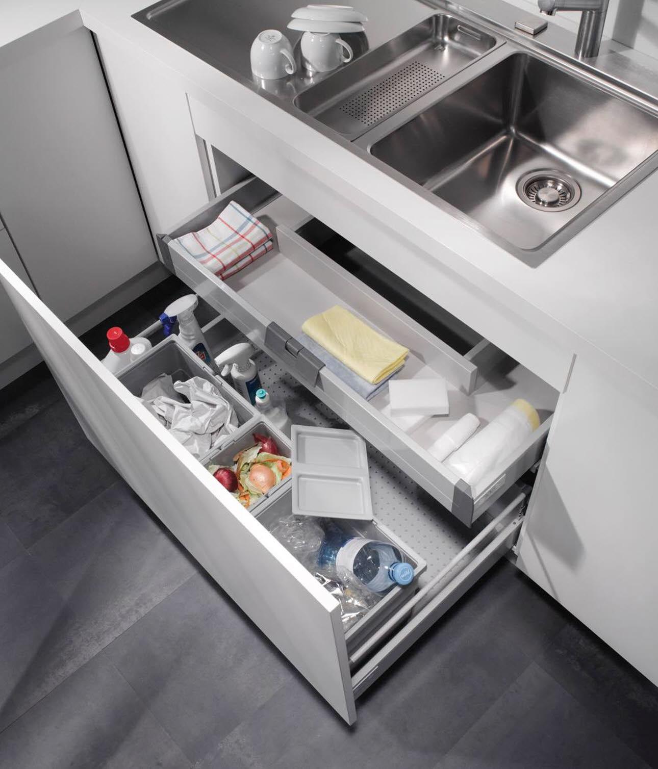 Müllsystem Küche  Jtleigh.com - Hausgestaltung Ideen